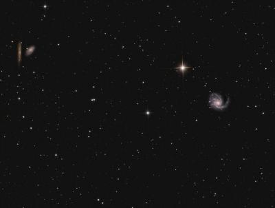 M 99 in Virgo LRGB - астрофотография