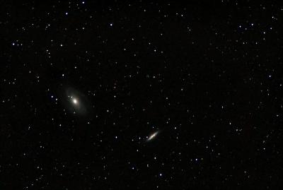 Галактики Боде M 81  и M 82. 17.04.20 - астрофотография