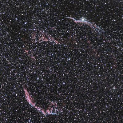 Veil nebula - астрофотография