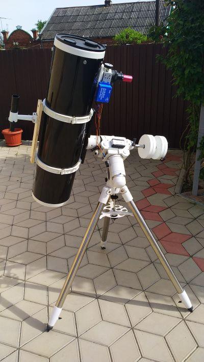 HEQ5Pro+SW2001 - астрофотография