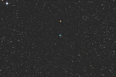 M76 Little Dumbbell Nebula - астрофотография