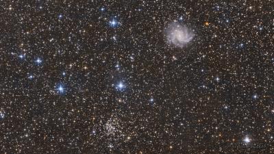 NGC6946 - астрофотография