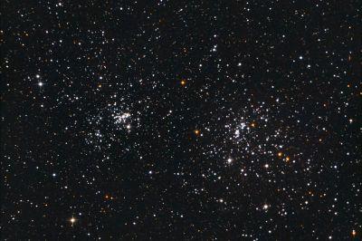 X H perseus (NGC 869,NGC 884)  - астрофотография