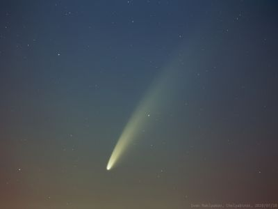 Комета C/2020 F3 (NEOWISE). - астрофотография