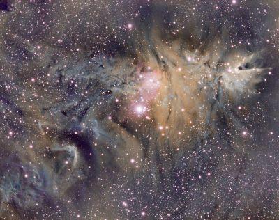NGC2261 - астрофотография