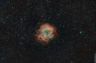 Rosetta Nebula. December 21, 2019. - астрофотография