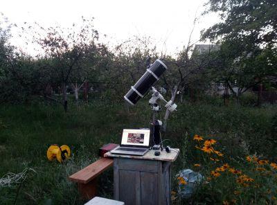 SkyWatcher 150 750 - астрофотография