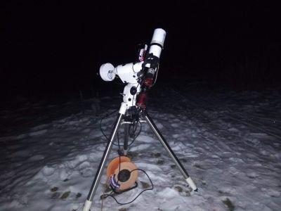 Декабрь, Огород - астрофотография