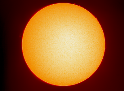 Солнце 02.09.2019 - астрофотография