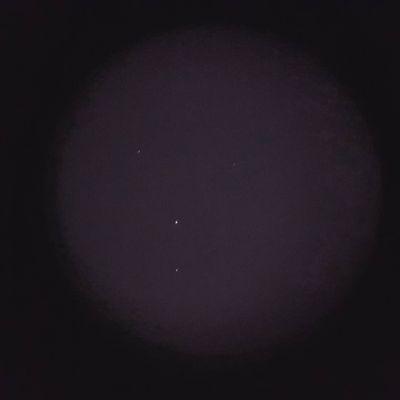В районе скопления галактик Волосы Вероники - астрофотография