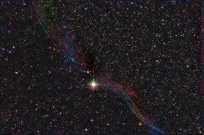 """NGC-6960 """"Ведьмина метла"""" - астрофотография"""