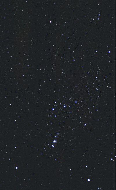 Орион - астрофотография