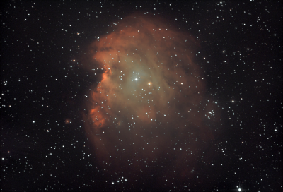 NGC2174 - Туманность Голова Обезьяны. - астрофотография