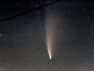 Комета С 2020 F3 NEOWISE 15.07.2020г. - астрофотография