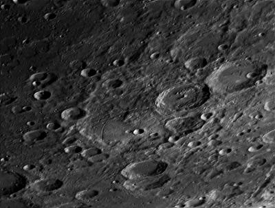 Кратер Жансен (Janssen) - астрофотография
