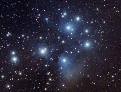 M45 Pleiades - астрофотография