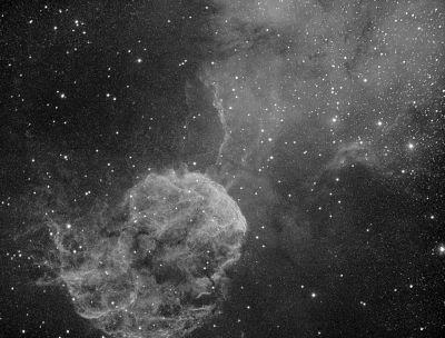 ic443 Водород - астрофотография