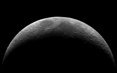 Moon (Stacked) - астрофотография
