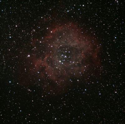 NGC 2244 - Розетка - астрофотография