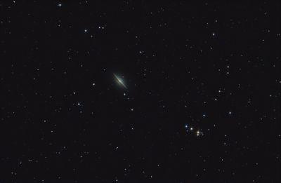 M104. Галактика Сомбреро. - астрофотография