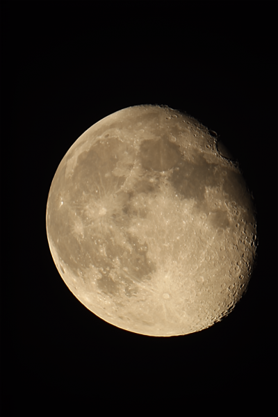 Moon 24/03/2019 - астрофотография