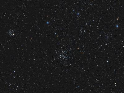 Open Clusters NGC654, NGC659, NGC663 - астрофотография