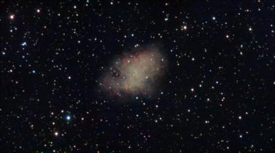 M1- Crab Nebula - астрофотография