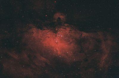 M16 RGB+Ha - астрофотография