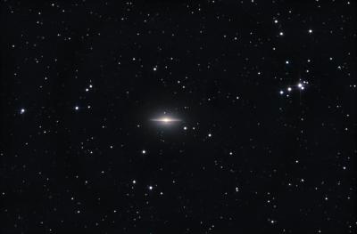 M104 - Сомбреро. - астрофотография