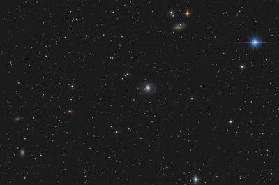 Cetus Galaxy group - M77, NGC1055, 1087, 1090. - астрофотография
