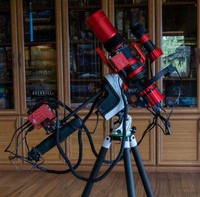 Рюкзачный астрограф - астрофотография
