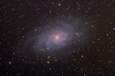 Галактика M33 - астрофотография