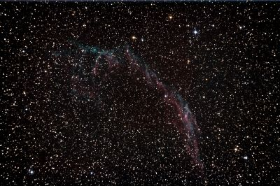 Veil Nebula (NGC 6992) - астрофотография