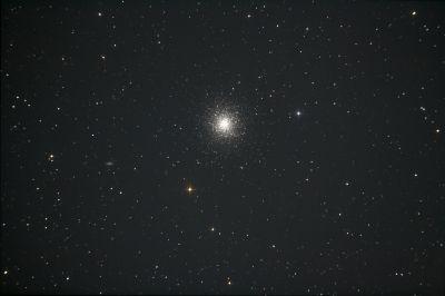 M13 (NGC 6205) Hercules Globular Cluster - астрофотография