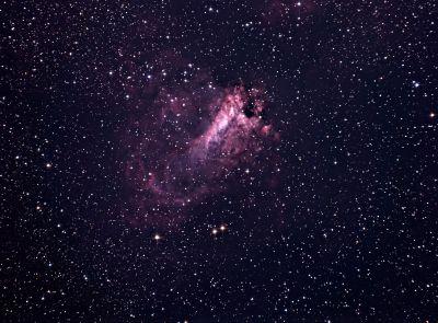 M17 Omega - астрофотография