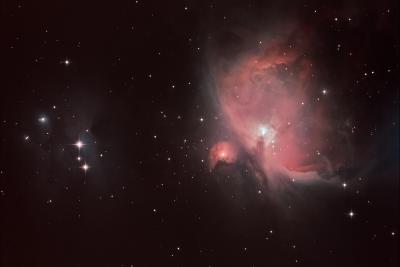 """Great Orion Nebula (M42), M43, NGC1977 «Running Man Nebula"""" - астрофотография"""