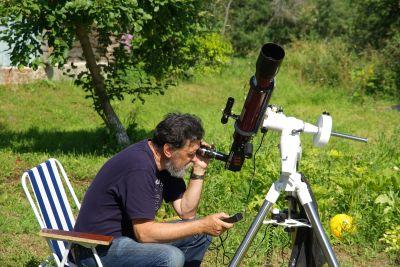 Наблюдения Солнца в На - астрофотография