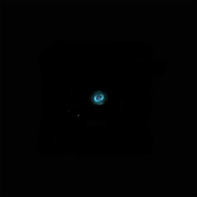 "planetary nebula NGC 7662 ""Blue snowball"" - астрофотография"