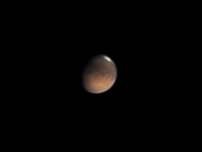 Марс 09.08.2020 - астрофотография