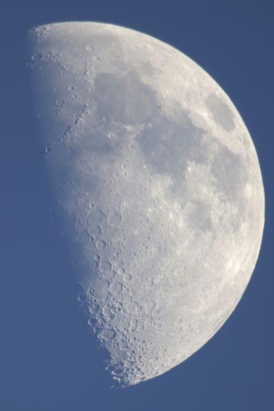 Луна-день18.06.2021 - астрофотография