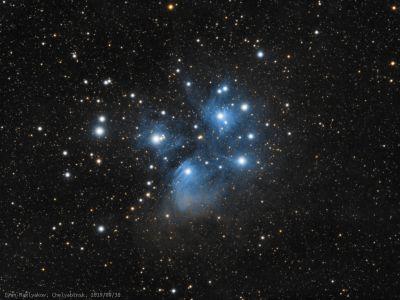 Плеяды (M45). - астрофотография