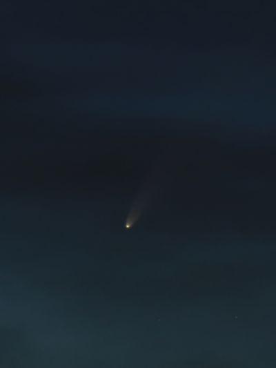 С/2020 F3 NEOWISE 10.07.2020 00:42 МСК - астрофотография