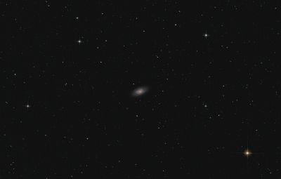 Black Eye Galaxy - M64 - астрофотография