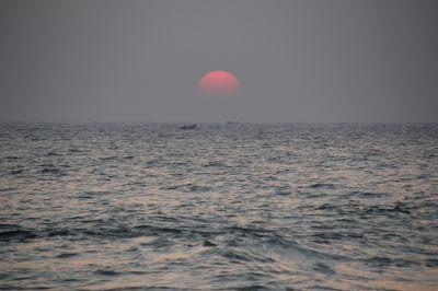 Закат над Индийским океаном - астрофотография