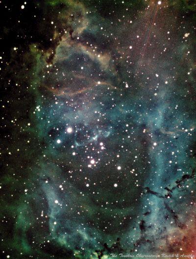 Зеленая Розетка. Мои первые эксперименты с обработкой астрофото - астрофотография
