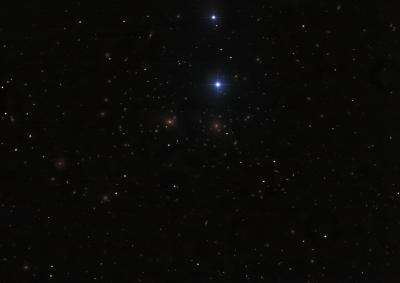 Abell 1656. (Coma Cluster) Скопление Волос Вероники - астрофотография