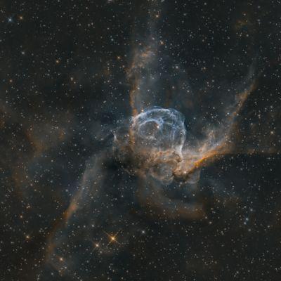 Thor's Helmet / NGC 2359 - астрофотография
