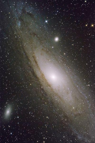 M 31 Галактика Андромеды (M110, M32) - астрофотография