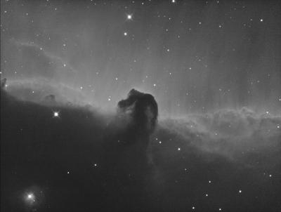 """IC 434 in Ha. Туманность """"Конская Голова"""" - астрофотография"""