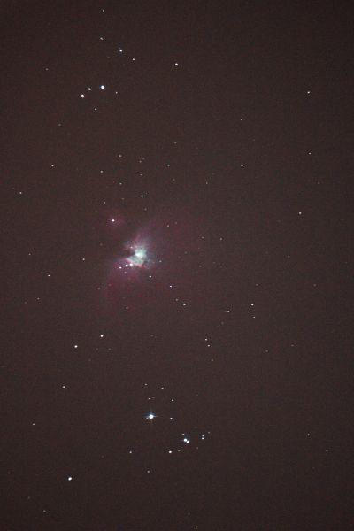 M42 (Большая туманность Ориона) - астрофотография